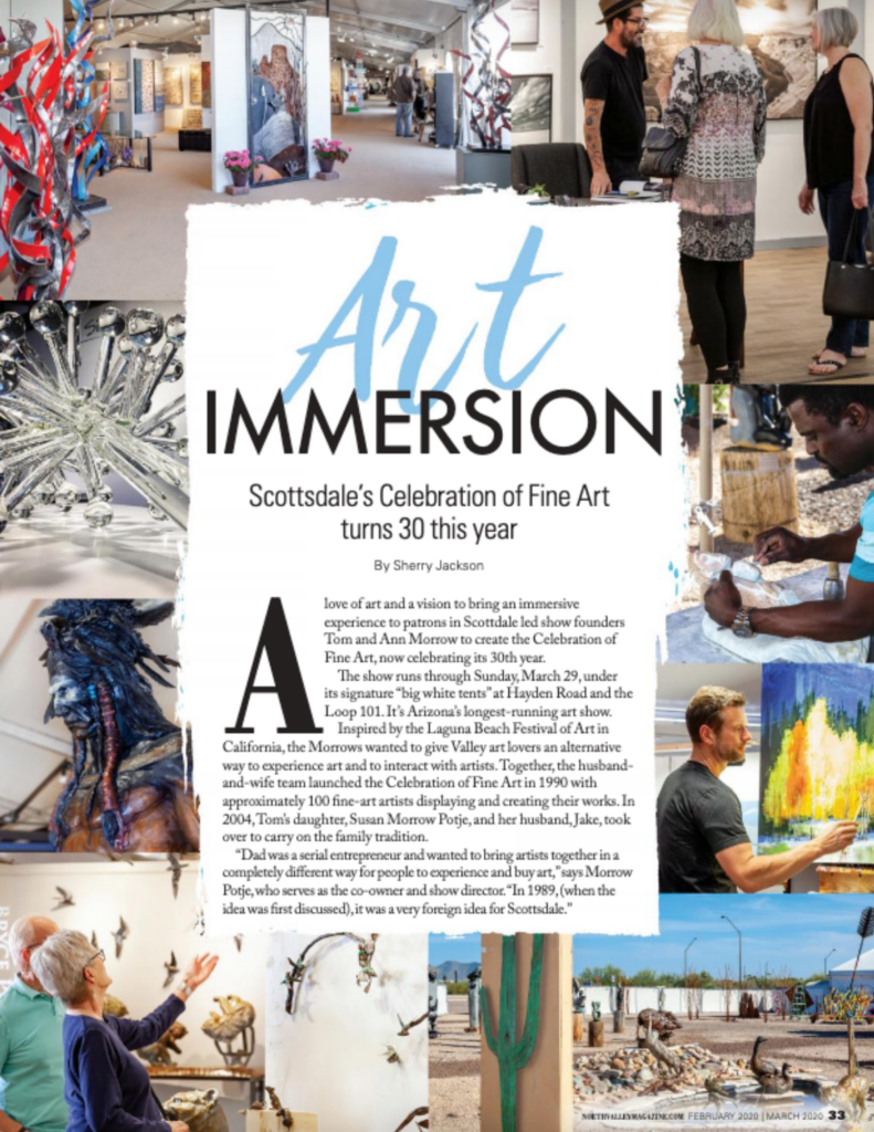 north valley magazine immersive art experience
