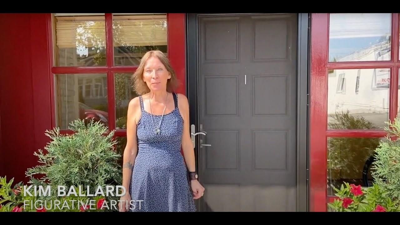 At home with the artists - kim ballard
